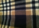 Black and Tan Plaid