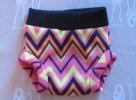 Black waist with Neon and Black ZigZag