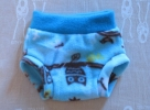 Turquoise waist with Blue Owls
