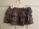 Grey T-shirt skirt