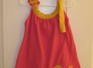 T-shirt dress with Heart Applique