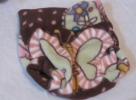 Pastel Butterflies on Chocolate