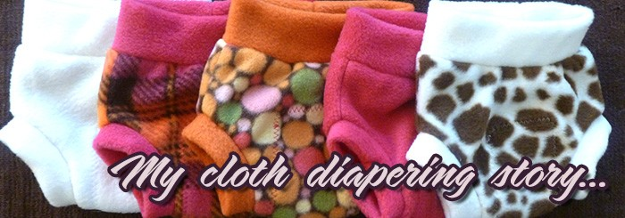 My Cloth Diapering Story